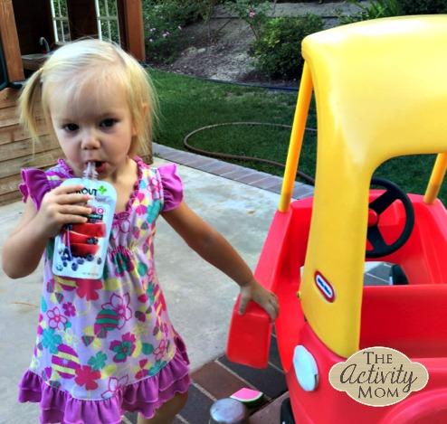 Toddler Snacks for Car Trips