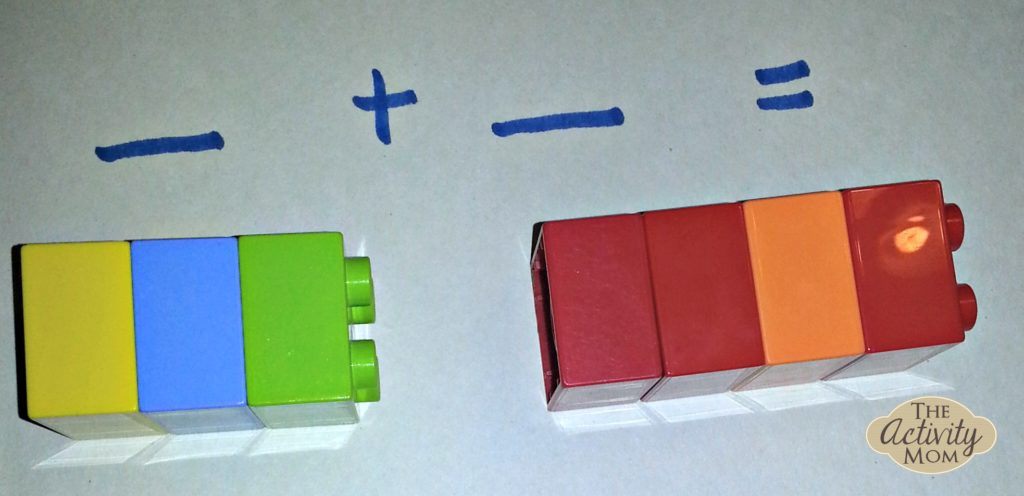 Adding with Legos