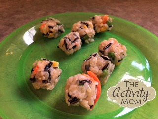 Cooking with Kids Cheesy Rice Balls