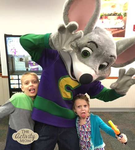 Getting Cheesy at Chuck E. Cheese