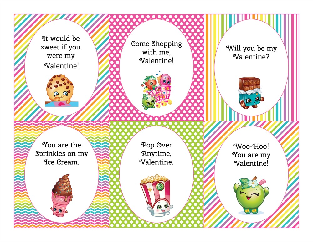 Shopkins Valentines Day