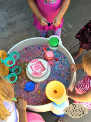Sensory Play and Find Motor Skills