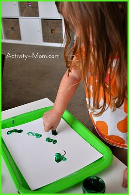Thumbprint Shamrocks