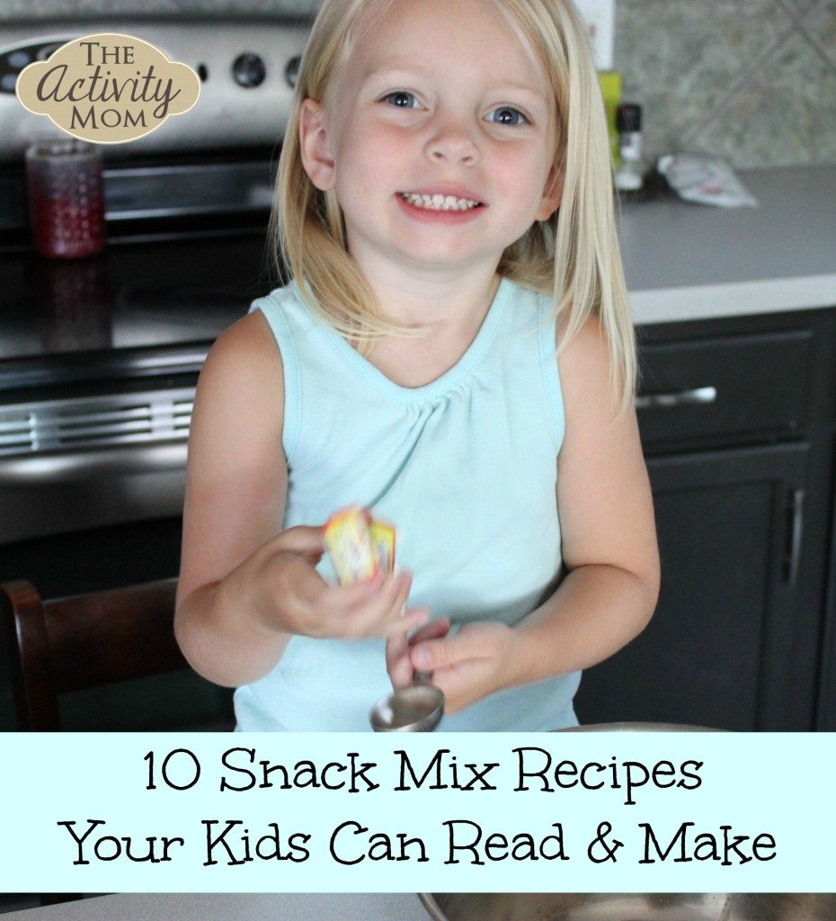 Snack Mix Recipes for Kids