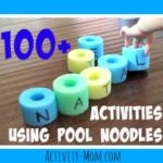 100 Pool Noodle Activities