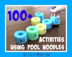 Pool Noodle Activities