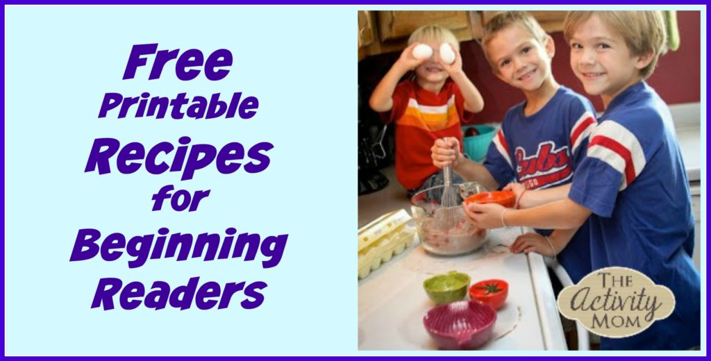 Recipes for Beginning Readers
