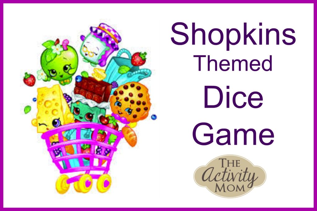 Shopkins Themed Dice Game