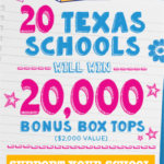 Box Tops at H-E-B
