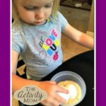Coloring Easter Eggs with Toddlers
