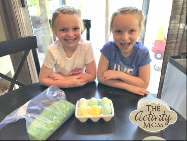 Coloring Easter Eggs with Kids Tips