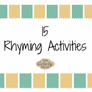 Rhyming Activities