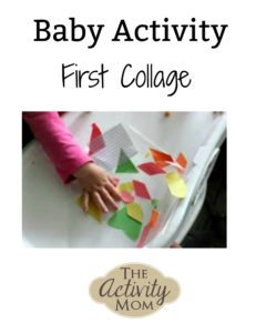 baby activity first collage logo