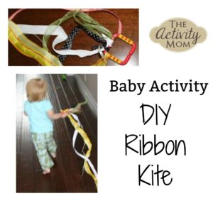 baby activity ribbon kite