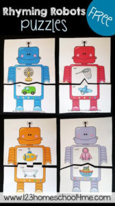 rhyming robot game