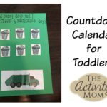 Countdown Calendar for Toddlers