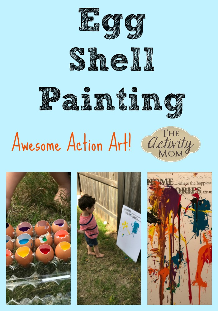 Egg Shell Painting Action Art