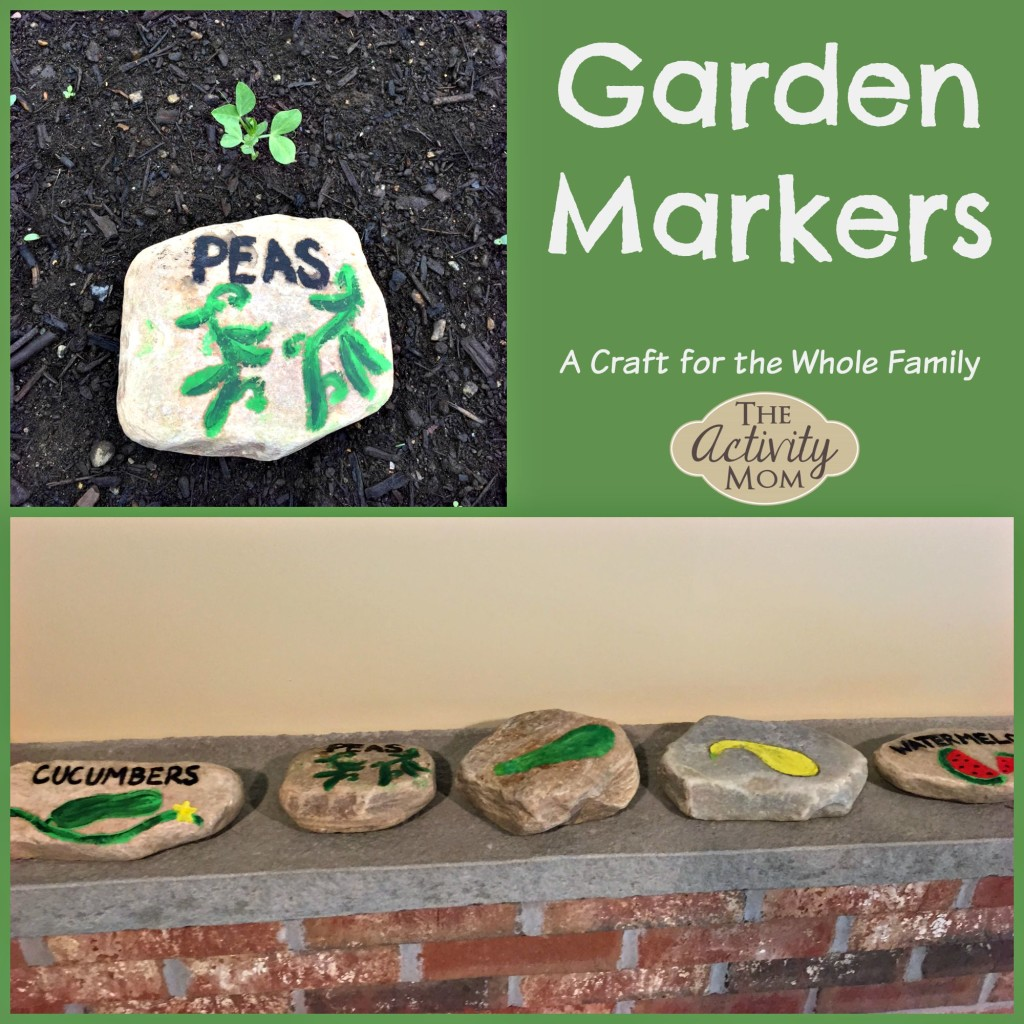 Garden Markers Rock Craft