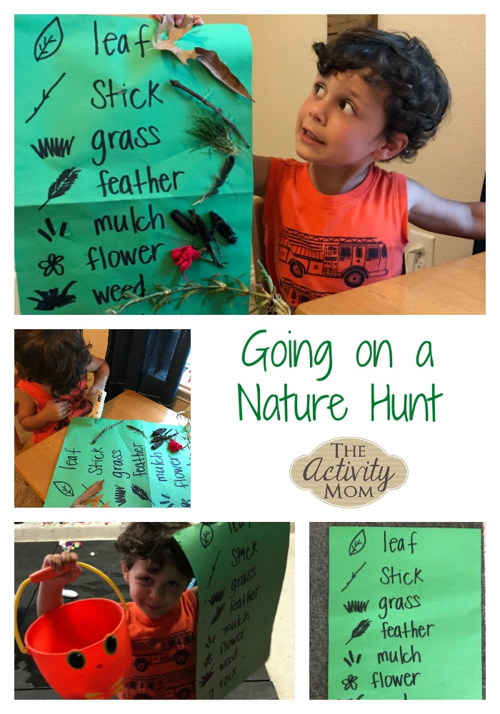 Going on a Nature Hunt