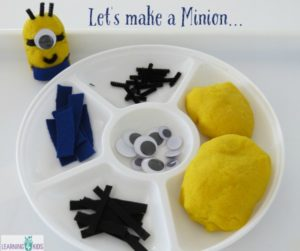 Minion Play dough
