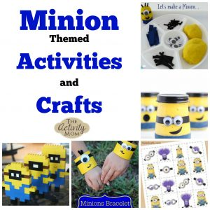 Minion Themed Activities and Crafts