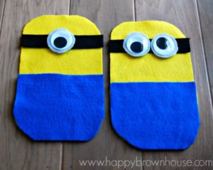 minion busy bag