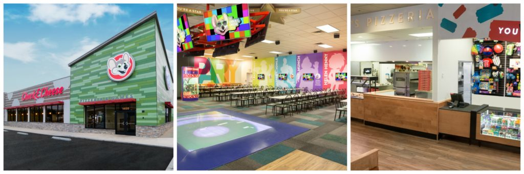 Chuck E Cheese's Family Fun