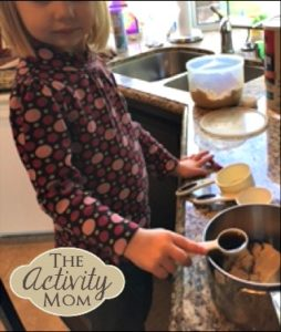 Cooking with Kids Homemade Granola