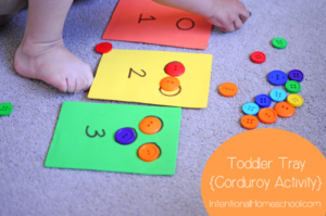 Corduroy Button Counting