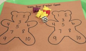 Corduroy DIce Game