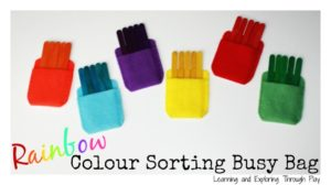 Corduroy Pocket Color Sorting