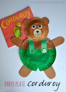 Paper Plate Corduroy