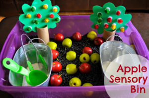 The Giving Tree Sensory Tub