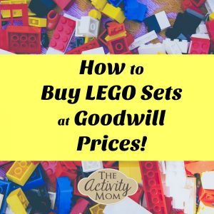 how to buy lego sets at goodwill prices