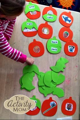 Pumpkin Compound Words