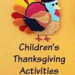 Children's Thanksgiving Activities
