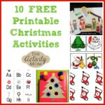 10 Free Printable Christmas Activities