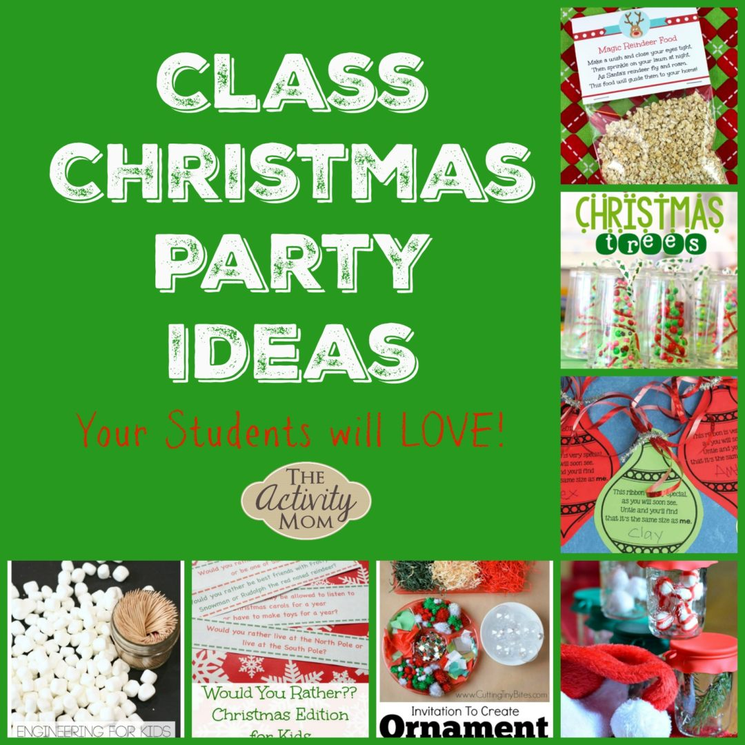 Class Christmas Party Ideas Kids Love