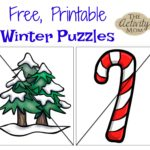 Free Printable Winter Puzzles
