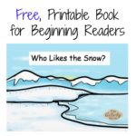 Free Printable Winter Book for Beginning Readers