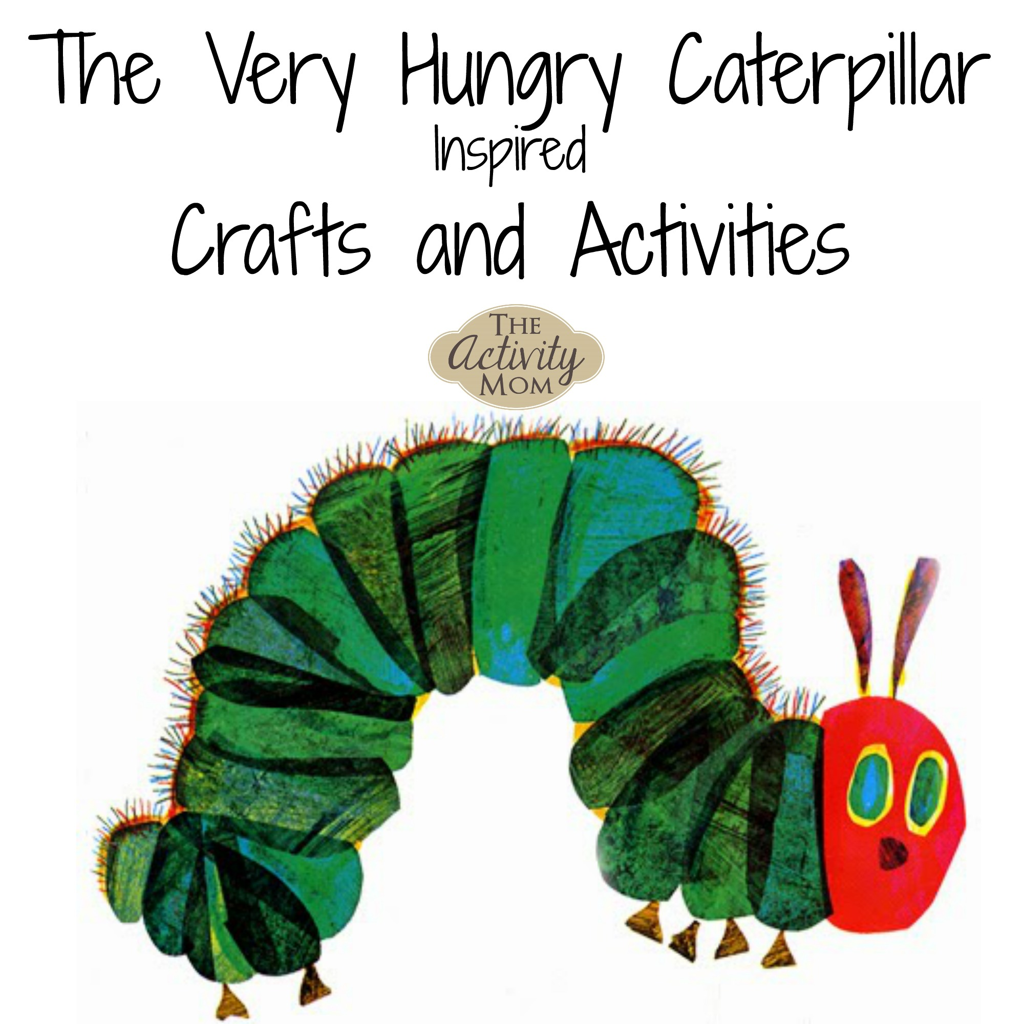 image relating to Very Hungry Caterpillar Printable Activities known as The Match Mother - Fairly Hungry Caterpillar Crafts and