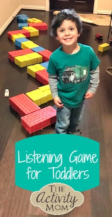 Listening Game for Toddlers