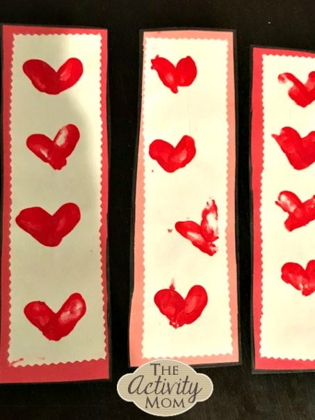 Valentine's Day Bookmark Craft for Kids