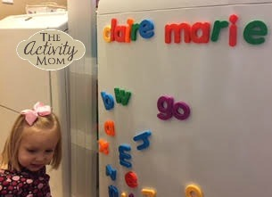 Learning with Magnetic Letters