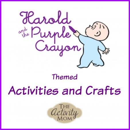 A Collection of Harold and the Purple Crayon Activities and Crafts