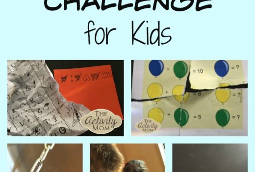 Make Your Own Escape Room Challenge for Kids at Home