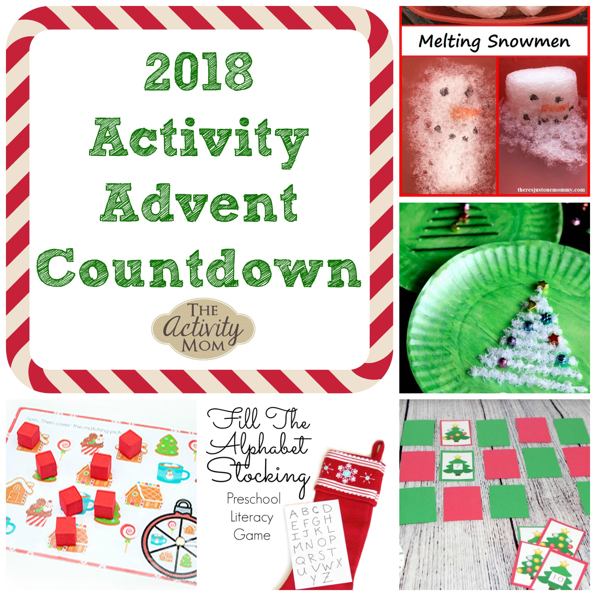 2018 Activity Advent Countdown for Preschoolers and Toddlers