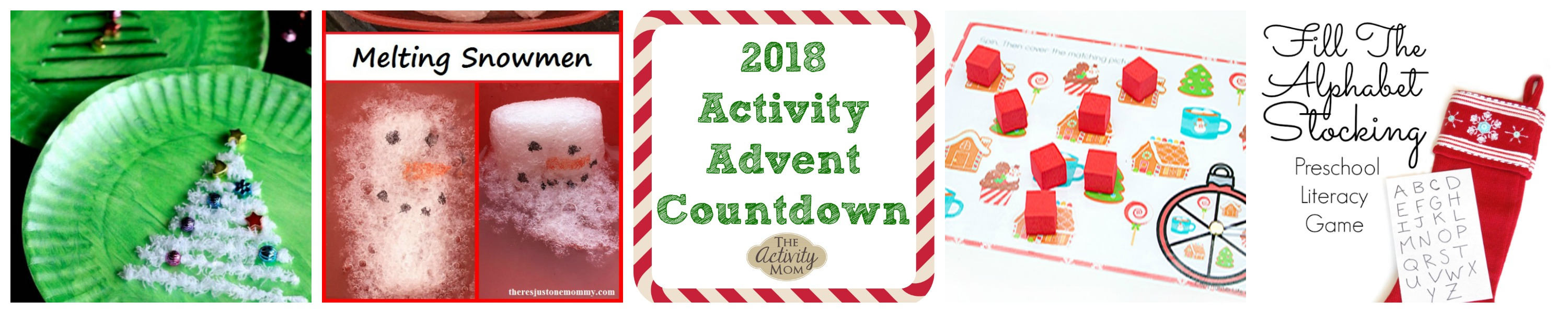 Activity Advent Countdown for Preschoolers and Toddlers