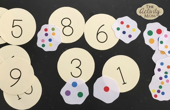 Cookie Counting Printable Activity