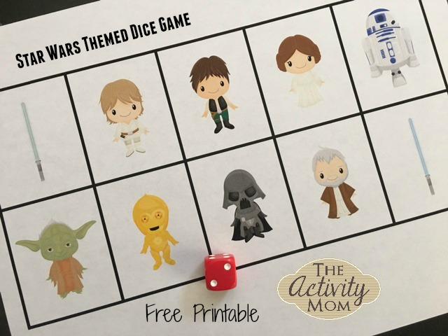 Star Wars Dice Game